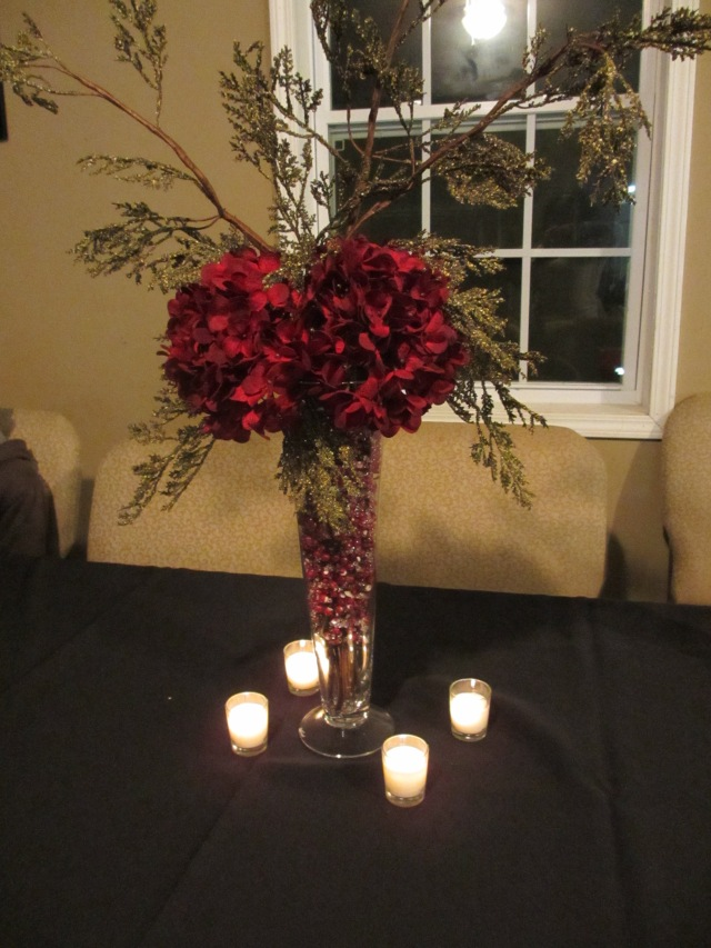 Unique Christmas arrangement-