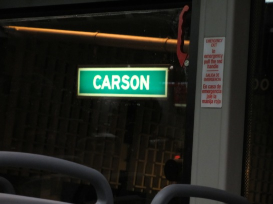 Guess what? We have our own street in Vegas!