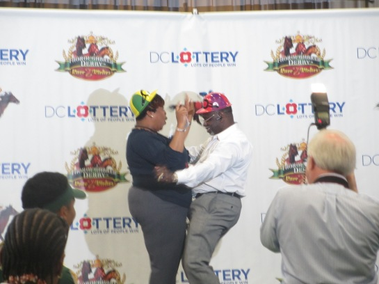 Watched a dance contest in Union station sponsored by the DC Lottery. These guys were awesome and they won $250 a piece!